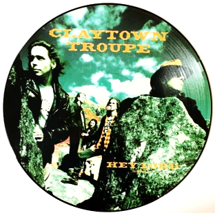 "Claytown Troupe - Hey Lord (12"") (Picture Disc) (EX/G++)"